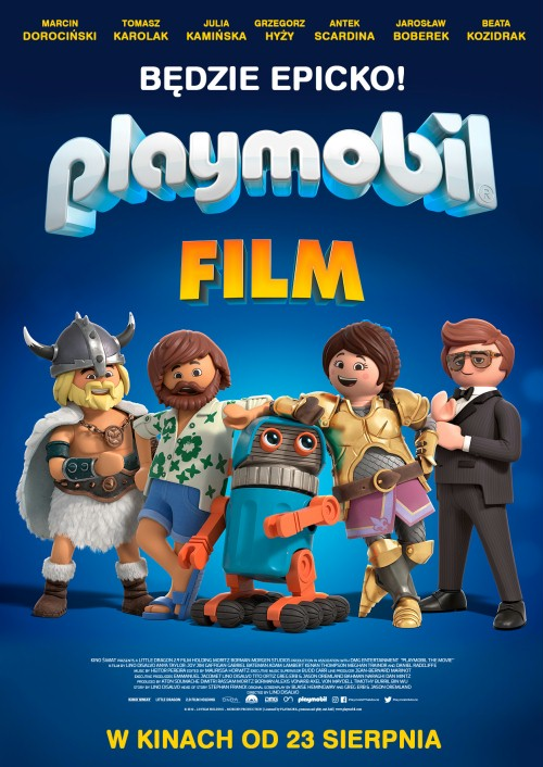 Playmobil. Film - plakat